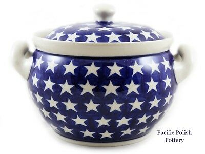 Polish Pottery Stoneware Soup Tureen (263-2) Poland STARS