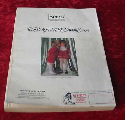 Vintage 1978 Sears Roebuck & Company Christmas Wishbook Catalog