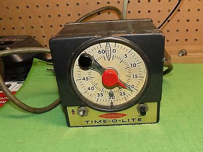Vintage Professional Time - O - Lite Photography Timer Model P-59