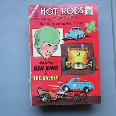 Hot Rods and Racing Cars 70 VG/FN  SKUB22713 25% Off!