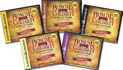 NEW 15 Audiobooks 5 BOXCAR CHILDREN COLLECTION Sets Volume #21-25 30 Audio CDs