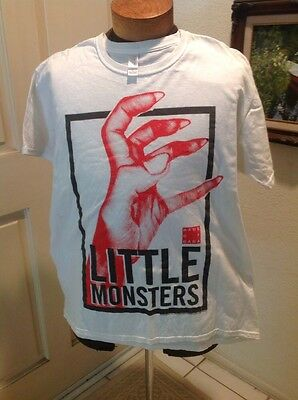 Lady Gaga Little Monsters Haus of Gaga Claw Shirt Large