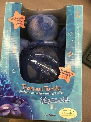 Cloud B Tranquil Turtle Purple, project underwater light NO SOUND (SEE DETAILS)