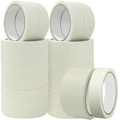 Low Tack White Masking Tape 50M X 24Mm Paint Painting Decorate