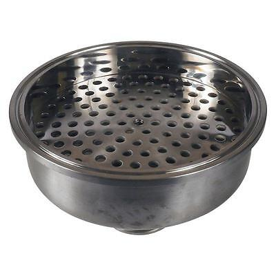 "Bowl Reducer | Tri Clamp 6"" x 1.5"" x 1/4"" FNPT w/ Filter - Sanitary Stainless"