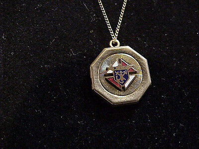 Knights of Columbus Locket with 14K gold chain