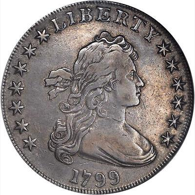 1799 Drapped Bust Dollar *  Very Fine/ Extremely Fine  * Problem Free *
