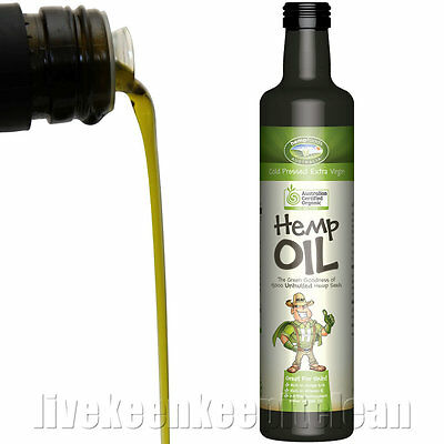 Hemp Foods Australia - Organic Hemp Oil - 250ml, 500ml, 1.5L & 2L Options
