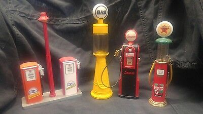 gas pumps, collectibles