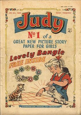Uk Girls Comics Judy Collection Of 350 Comics From 1960-1981 On Dvd