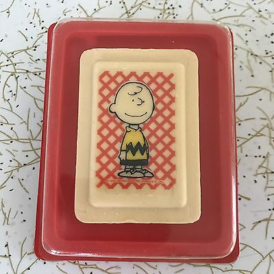 Vintage 70s CHARLIE BROWN SOAP By NORTON of London PEANUTS SNOOPY unused in box