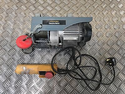 Tooltec Electric Hosit Winch 450W 100/200 Kg Lift