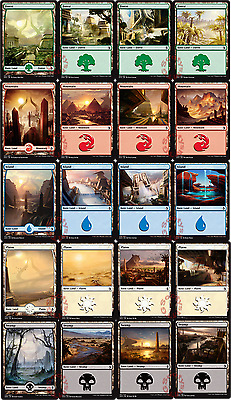 MTG Amonkhet AKH - Choose your Basic Land Singles and sets available - New