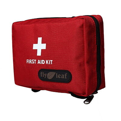 Yoocart Large Red Nylon Ripstop Outdoors Sports Home Medical First Aid Kit Bag