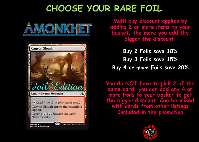 MTG Amonkhet AKH - Choose your Rare Foil - Mint Buy 2 or more save 10%