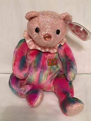 TY Birthday Baby - OCTOBER the Birthday Bear - Pristine with Mint Tags - RETIRED