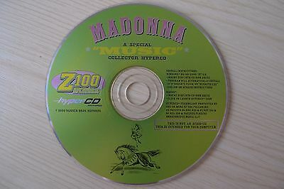 Madonna Music Z-100 Official Collector HyperCD Promo NOT A Music CD