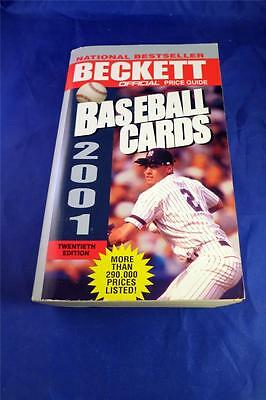 ~Official Price Guide to Baseball Cards 2001 by James Beckett (2000, Paperback)