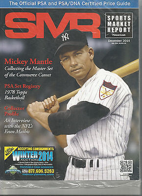 SPORTS MARKET REPORT, PSA PRICE GUIDE, December, 2014 - Mickey Mantle