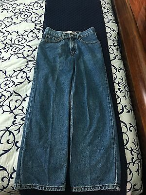 Levi Strauss & Co Boys 550 Relaxed Fit Jeans Size 16 Slim W26 L28