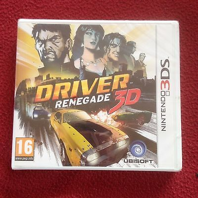 Driver Renegade 3D for Nintendo 3DS NEW SEALED