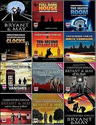 Christopher Fowler: Bryant and May Mystery Collection (1-12) Unabridged. MP3 DVD