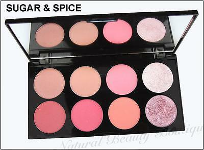 MAKEUP REVOLUTION~ULTRA BLUSH~BLUSHER, BRONZER HIGHLIGHT POWDER 8 Colour PALETTE