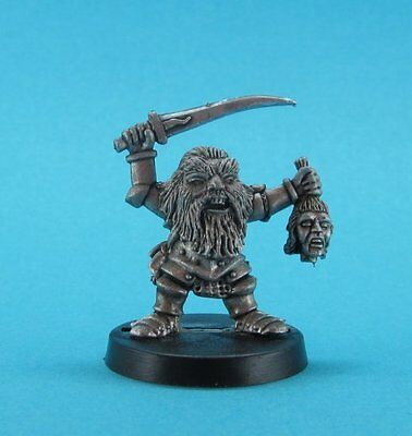 RPE Fantasy - Dark Dwarf Champion (28mm scale)