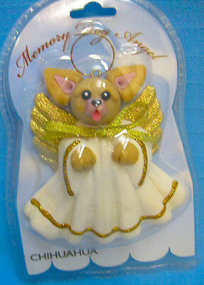 Chihuahua Memory Dog Angel Keepsake Ornament