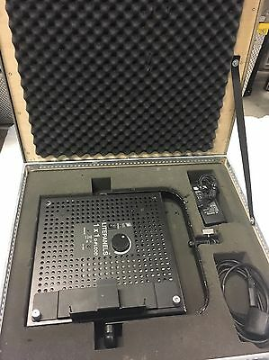 Litepanel Daylight 1x1 with mains adaptor- Flightcased