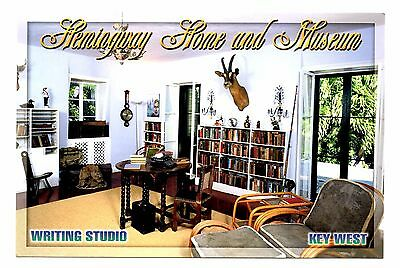 Hemingway Home and Museum Florida Postcard Key West Writing Studio Pool House