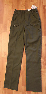 NWT BOY SCOUTS AMERICA BSA Olive/Green Cargo Youth Official Uniform PANTS 16 W28