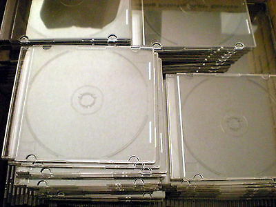 USED 20 Slim CD Jewel Case