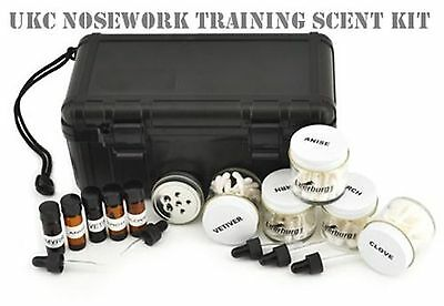 Nosework Training Scent Kits UKC Nosework Scent Kit Large