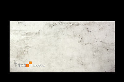 Iris Chalk Matt Porcelain Floor & Wall Tile 300x600 Concrete Look