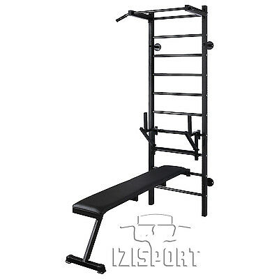 Home gym wall bars&Board for training with a barbell&The emphasis for the rod
