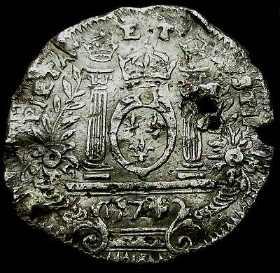 S720: Dated 1574 Mary Queen of Scots Propaganda Medal, MI 121/58