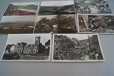 8 Old Newton Stewart Wigtownshire Scotland Postcards