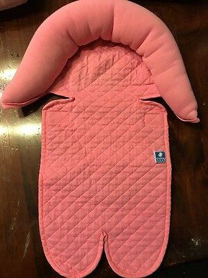Especially For Baby Infant Car seat Insert Coral Pink