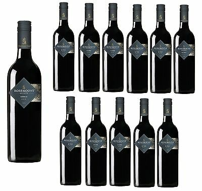 5 Star Winery- Rosemount Road Shiraz Red Wine 2015 (12x750ml)