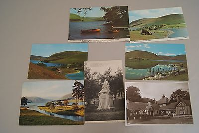 7 Old St. Mary's Loch, Selkirk Selkirkshire Scotland Postcards