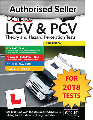 Focus LGV / PCV Theory & Hazard Perception Test PC DVD-ROM