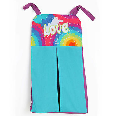 One Grace Place Diaper Stacker- Terrific Tie Dye