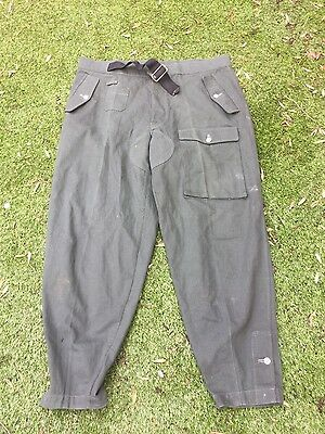 Wehrmacht HEER Reed green panzer trousers repro Large size top repro !!