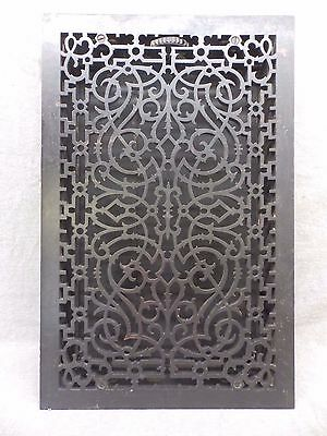Antique Cast Iron Rare Floor Heat Grate Register Cold Air Return 16x25 486-17R