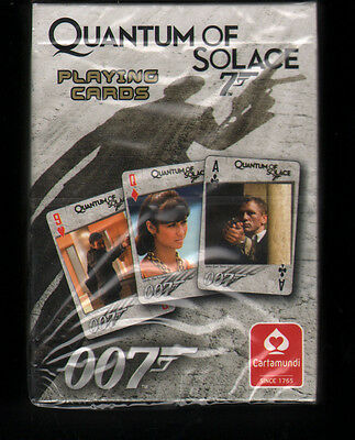 James Bond Sealed Deck Of Quantum Of Solace Playing Cards Daniel Craig