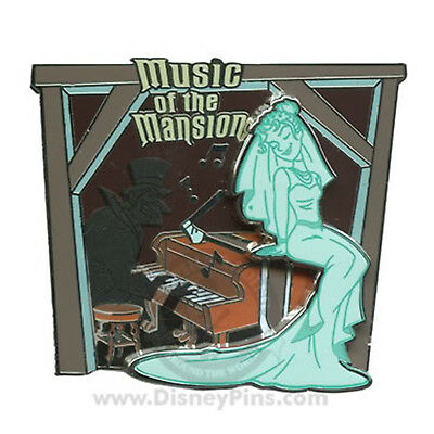 Haunted Mansion O'pin House  Music Of The Mansion Pin