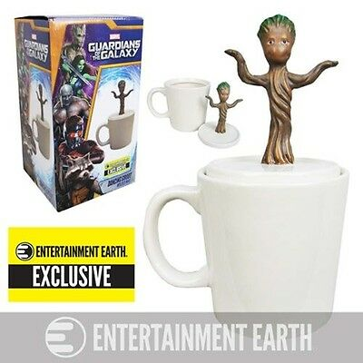 BRAND NEW Guardians of the Galaxy Baby Dancing Groot Mug- Entertainment Earth