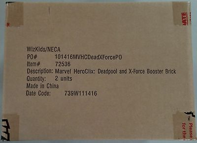 Marvel HeroClix Deadpool and X-Force Booster Case