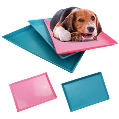 Chic Pet Toilet Puppy Urinal Dog Pee Training Tray Indoor Wear-resistant Pad Mat